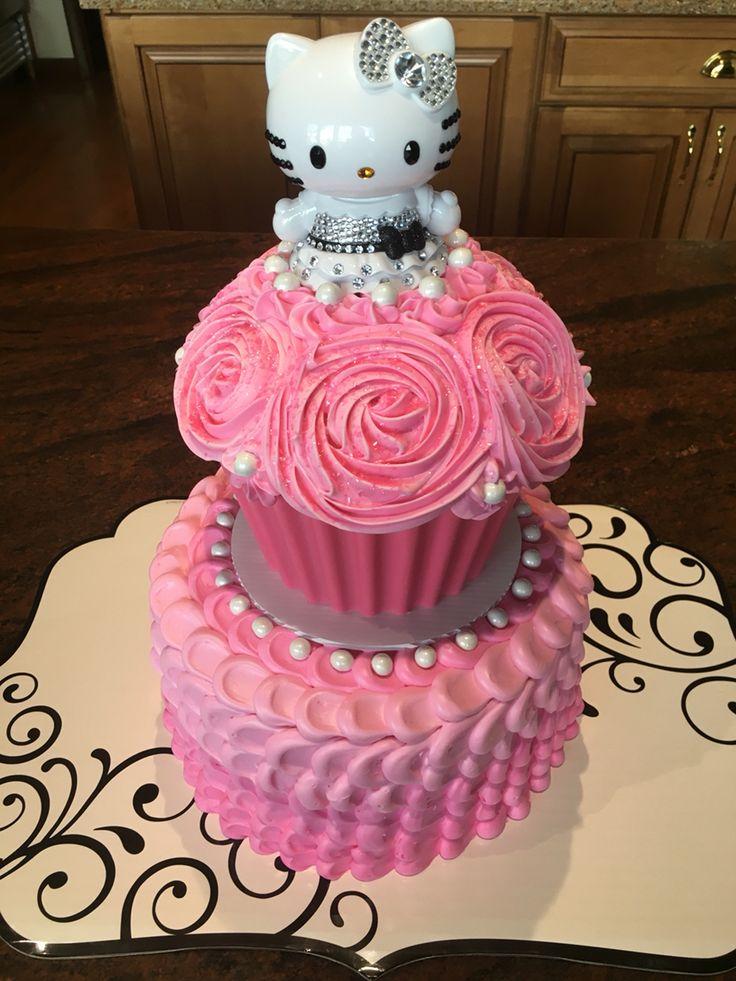 Hello Kitty Cake Cakes Pinterest Kitty Cake Hello