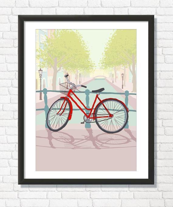 Amsterdam Art Print With Images Amsterdam Art Art Prints Art