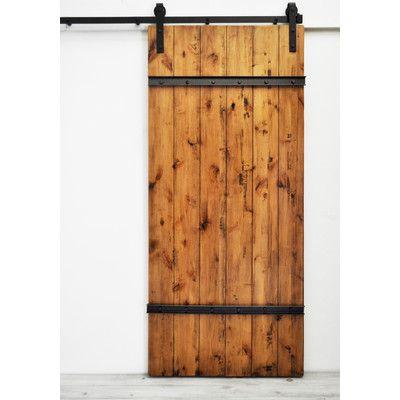 Dogberry Collections Drawbridge Barn Door & Reviews | Wayfair
