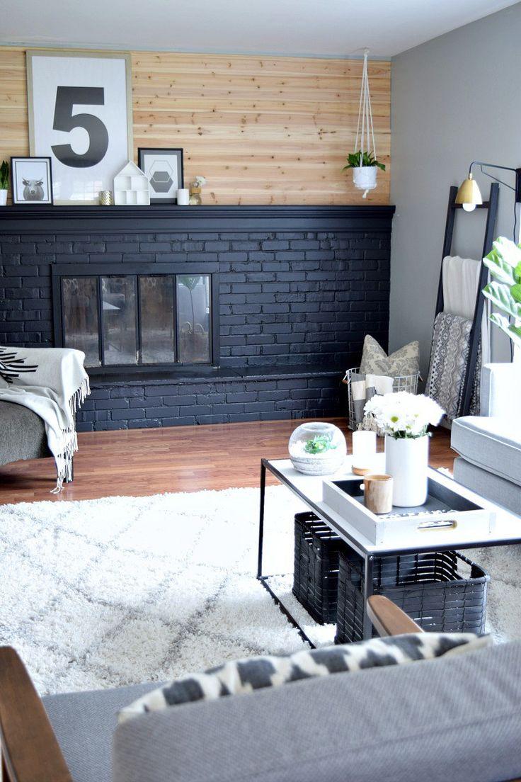 A Big Living Room Makeover on a SMALL Budget