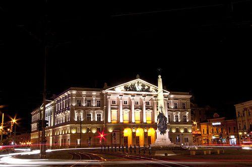 theatre, Arad, Romania