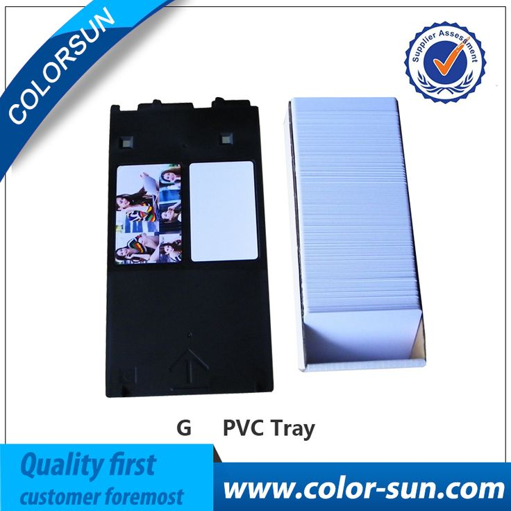 promo 1x pcs pvc card tray for canon g 50 pcs blank business cards for canon #printing #business #cards