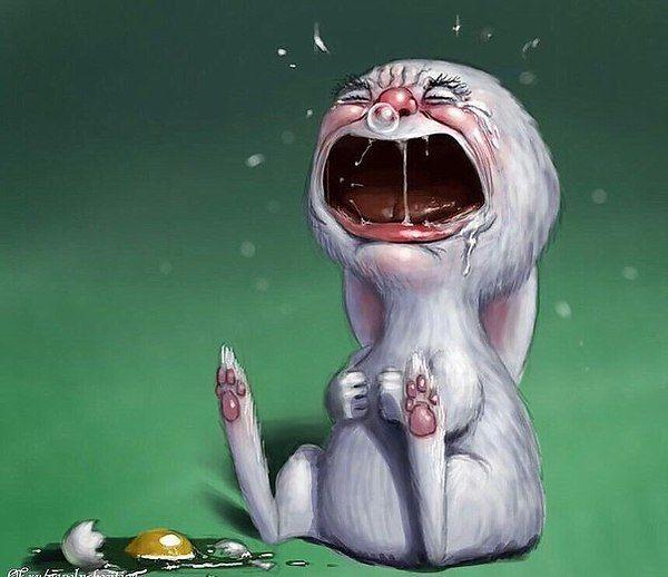 Смешные картинки плачущих