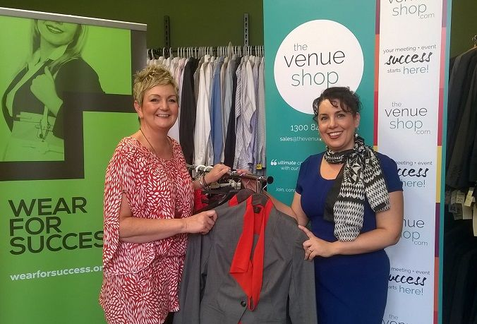 TheVenueShop Helps Unemployed Put Best Foot Forward #ProjectSuccess fundraiser - buy your raffle tickets here: www.rafflelink.com.au/qtsydney2015