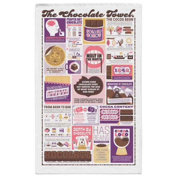 The Chocolate Tea Towel
