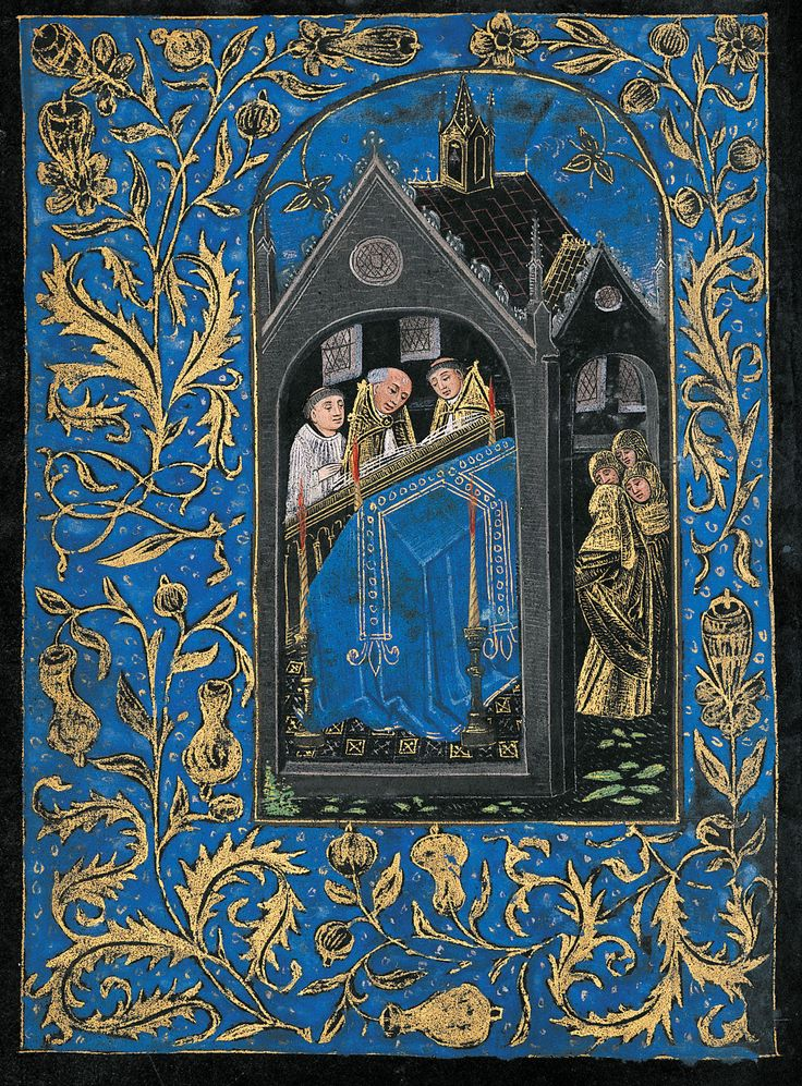 Scene, Liturgical: Obsequies | Book of hours | Belgium, Bruges | ca. 1480 | The Morgan Library & Museum