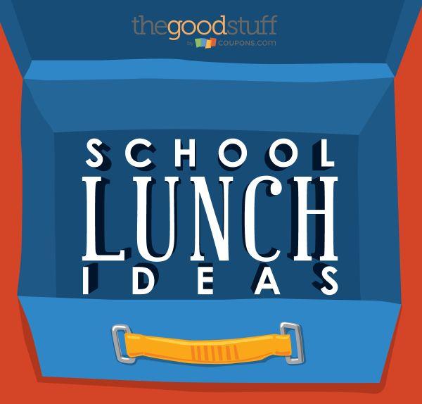 Put Away the PB&J! Packing School Lunch Ideas - thegoodstuff