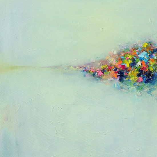 art print Giclee Print 12x12 from original abstract oil by siiso, £27