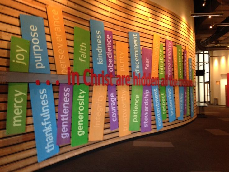 Children's Ministry Welcome Area or bulletin board idea on smaller scale