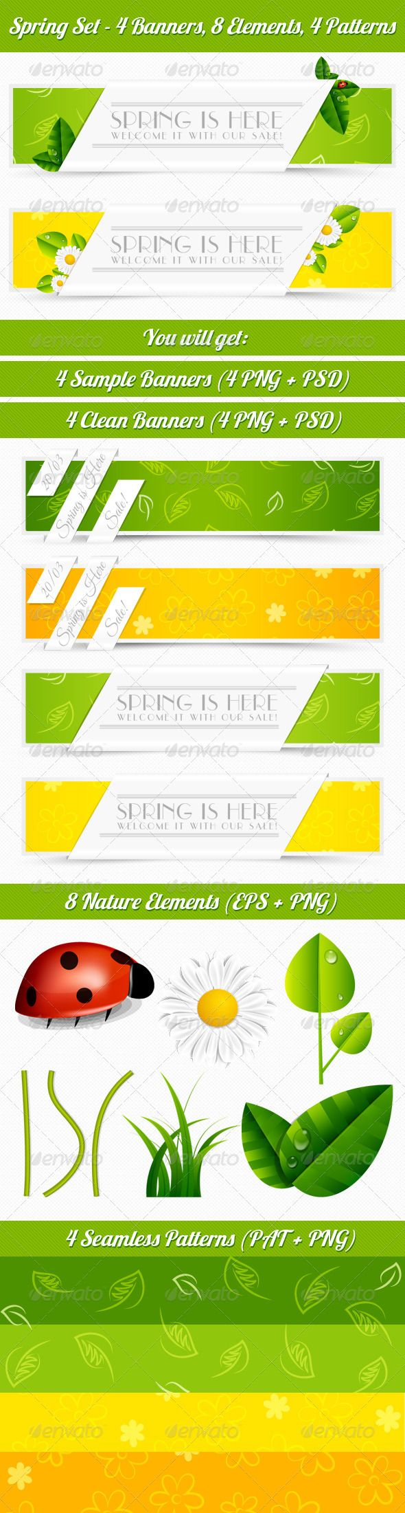Spring Web Banner Set Template PSD | Buy and Download: http://graphicriver.net/item/spring-banner-set/4240338?WT.ac=category_thumb&WT.z_author=Veritycz&ref=ksioks