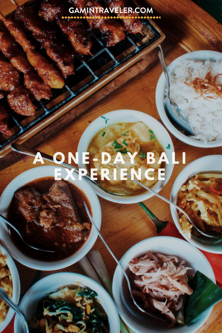 What to do in Bali? Massage and local food before leaving Indonesia. Our last day in Bali – A one day Bali Experience via @gamintraveler
