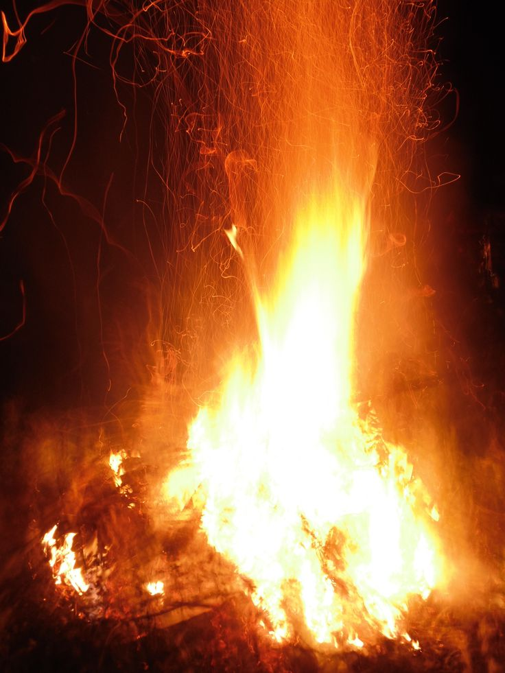 Foc de tabara...