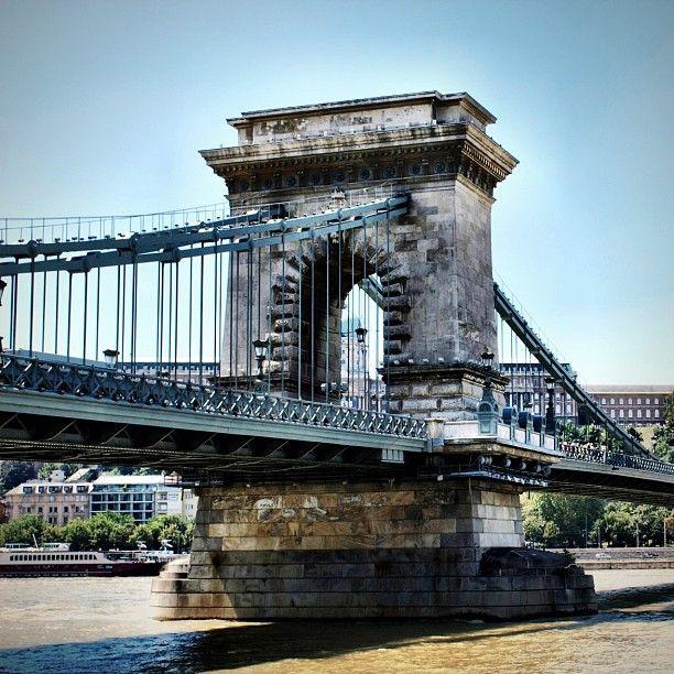 Széchenyi lánchíd (The Széchenyi Chain Bridge), Budapest