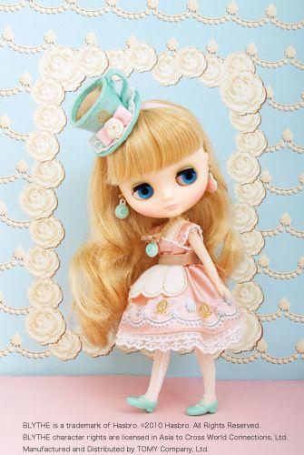 Blythe♡Macaron-Q-Tea-Party☆