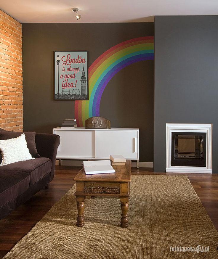 Rainbow wallpaper by Fototapeta4u.pl