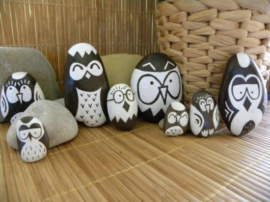 hand painted stones for sale - piedras pintadas a mano para la venta  stones painted