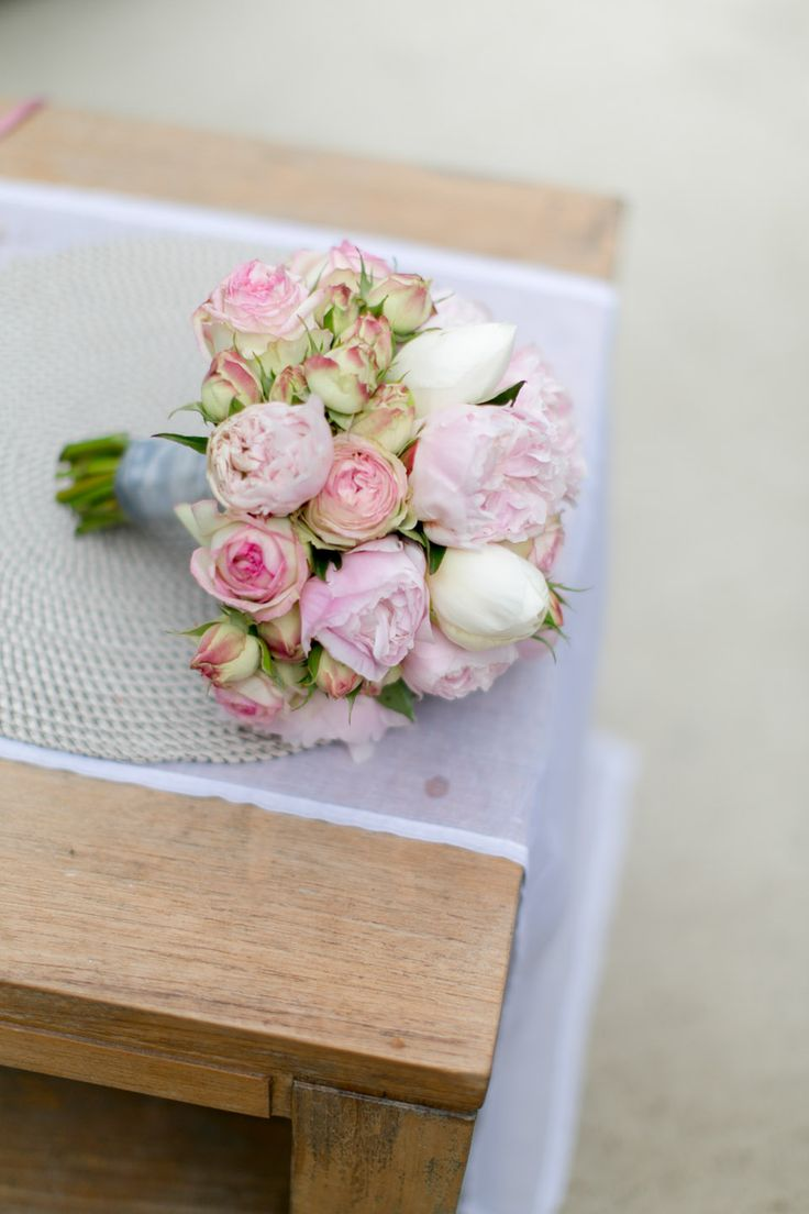 Hochzeit in Altrosa und Mattgold