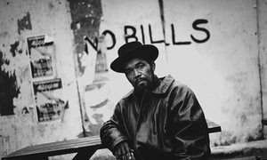 Prince Buster, one of the founders and leaders of the ska music scene that originated from Jamaica, photographed in London's Finsbury Park.