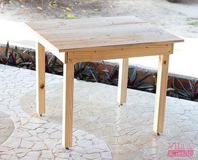 Aprenda com este passo-a-passo a fazer uma mesa de madeira simples e resistente.