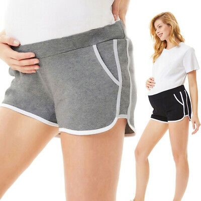 (Werbung) eBay-Shorts Mutterschaft Schwangere Elastic Stretch Comfy Summer Plus … – Maternity. Women's Clothing