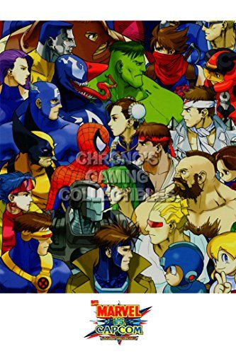 CGC Huge Poster  Marvel vs Capcom 3 Ultimate PS3 XBOX 360  MVC022 24 x 36 61cm x 915cm ** See this great product.