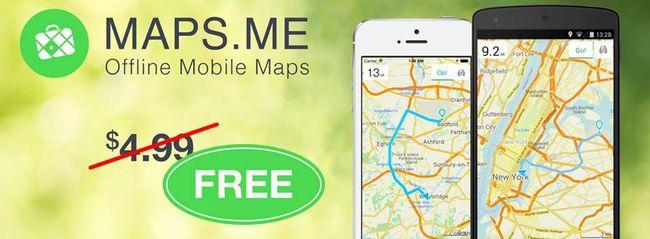 Najlepsze mapy offline dla podróżników MAPS.ME za darmo!