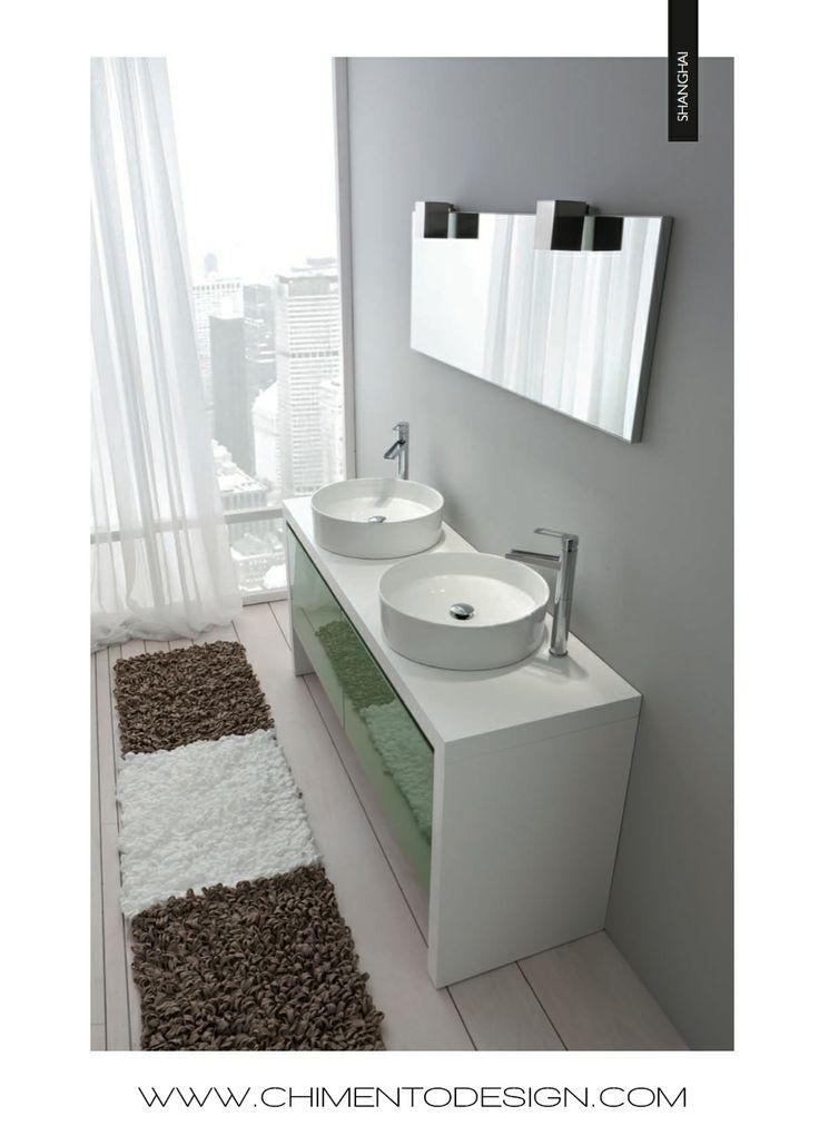 su Arredo Bagno Verde su Pinterest  Combinazioni di colori da bagno ...