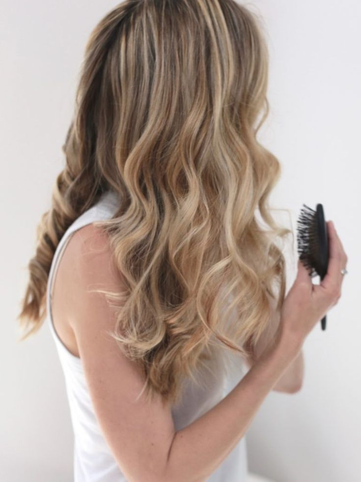 Loose Curls A Picture Tutorial Of How To Use The T3 Tapered Wand – #curls #loose…