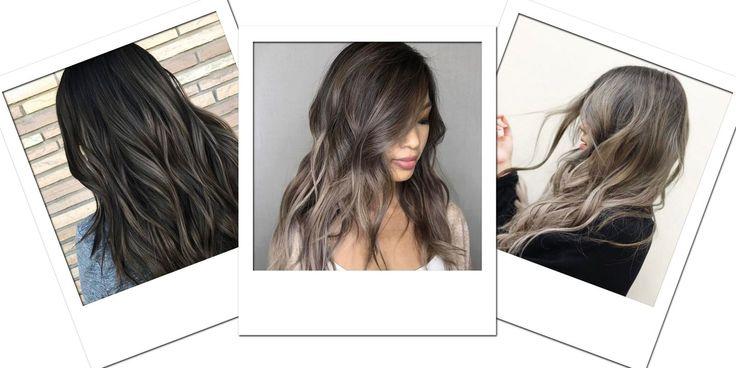 Il castano cenere è il colore da provare se hai i capelli scuri!