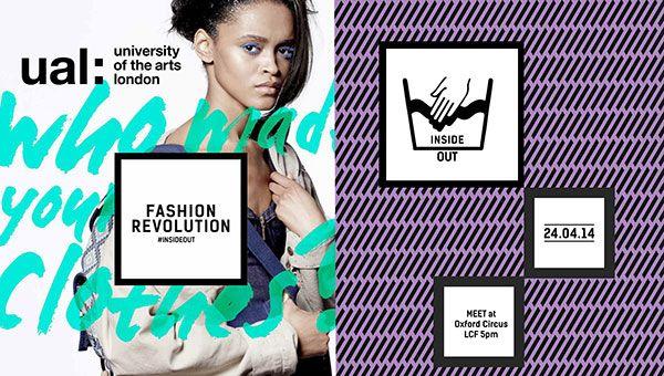 "Fashion Revolution Day: 24th April 2014. ""fash_Mob"" http://ual.force.com/apex/EventFormPage?id=a0RD000000ABliJMAT&book=true"