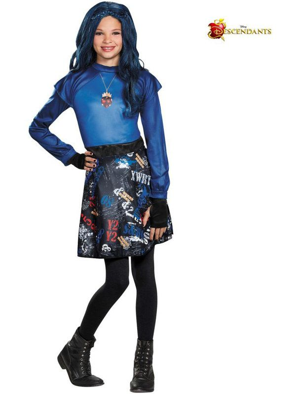 girls descendants evie isle of the lost costume - Ideas For Girl Halloween Costumes