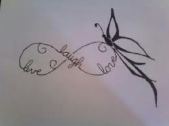 Infinity Tattoos With Butterflies I want this for a tatt...
