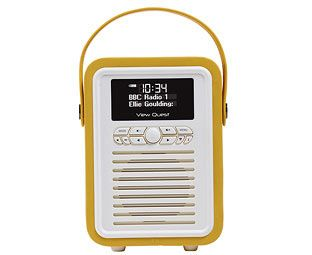 Expert Verdict Retro Mini Portable DAB Radio We've chosen this radio as much for its gorgeous, petite design and colours as for its genuinely-excellent DAB and FM reception. This portable radio doubles as a bedside clock radio, although it's far http://www.MightGet.com/january-2017-11/expert-verdict-retro-mini-portable-dab-radio.asp