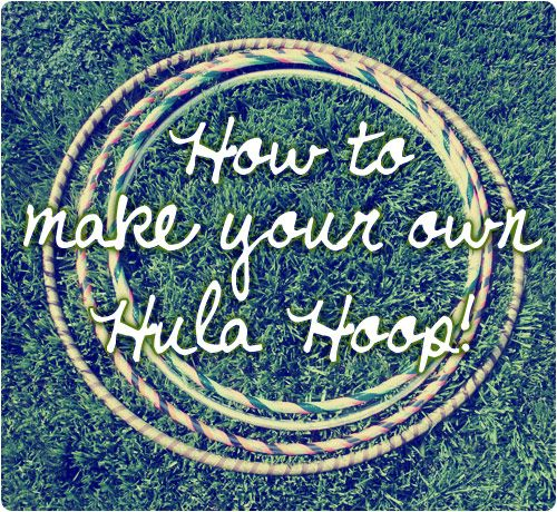 Tutorial: How to make a hula hoop!  Polyethylene tubing  - 1 connector that fits your tubing  - PVC pipe cutters  - Sharpie  - Tape Measure  - A flat iron or blow dryer  - Scissors  - Pretty tapes