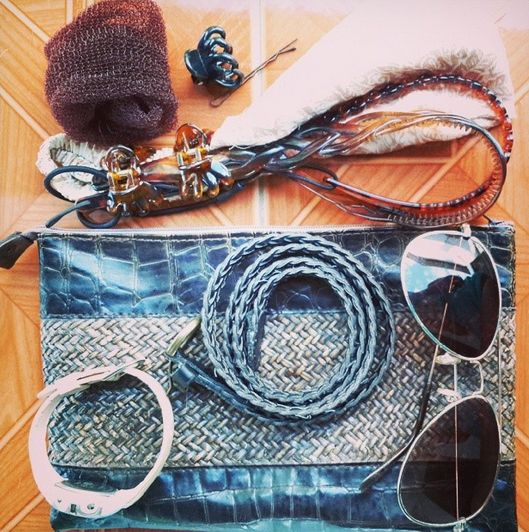 Accessories are easy to carry and can add a touch of personal style to even the most basic of outfit. Don't forget to pack these!