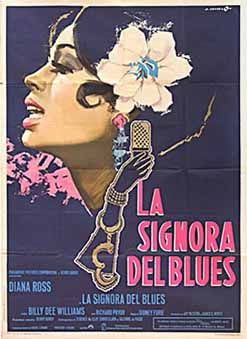 lady sings the blues italian movie poster
