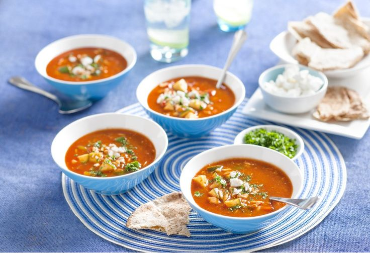 Spend less time in the kitchen and more time with the family with this easy Italian vegetable soup.
