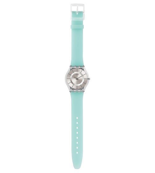 SUMMER BREEZE. Silicone strap, med. sz case, Skin collection. GOOD!