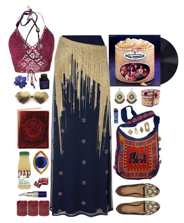 """""""158 ♬Love Beads and Meditation♬"""" by meta-morphosis ❤ liked on Polyvore featuring Monsoon, BP., Wildfox, ASOS, Thameen, Energizer and Grace"""