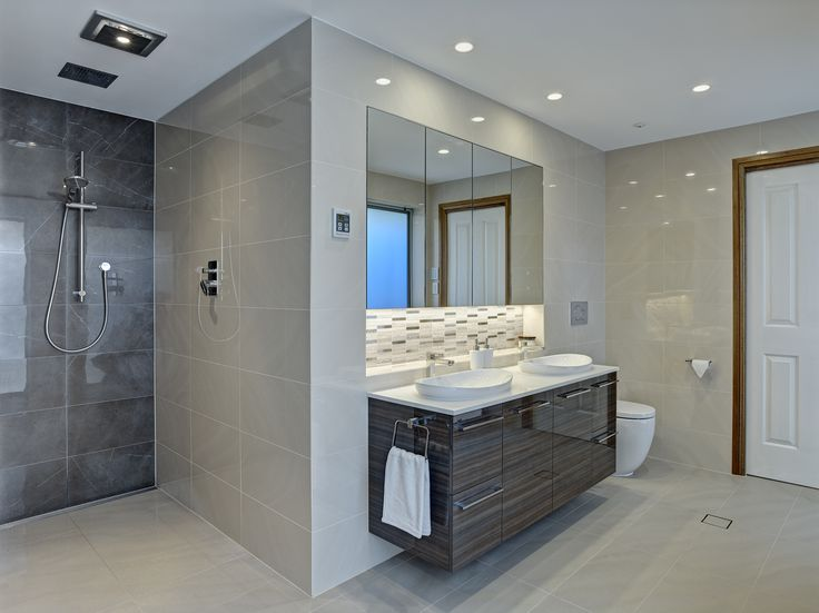 Pic Of KBDi Award Winning Large Bathroom Design Love the vanity and the feature tiles