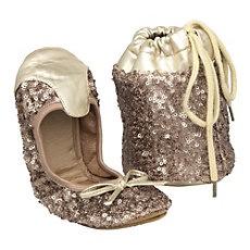 MACIE - Fold Up Sequin Ballerina