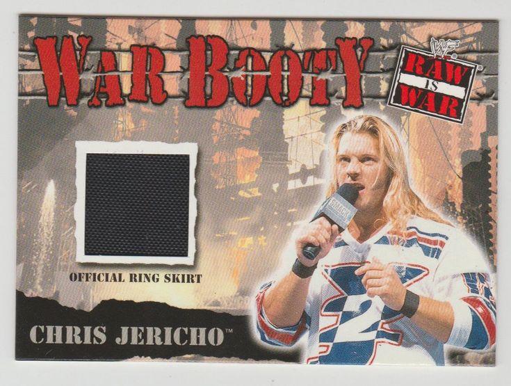 2001 FLEER WWF WRESTLING CHRIS JERICHO WWE RAW WAR WAR BOOTY OFFICIAL RING SKIRT - http://bestsellerlist.co.uk/2001-fleer-wwf-wrestling-chris-jericho-wwe-raw-war-war-booty-official-ring-skirt/
