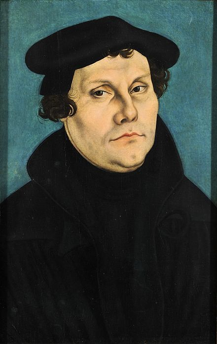 Martin Luther:  reform movement in 16th century Christianity, subsequently known as the Protestant Reformation