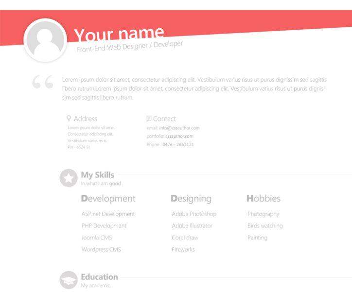 113 best Modèles de curriculum - CV templates images on Pinterest - asp resume sample