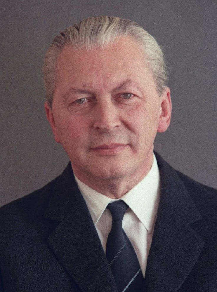 Kurt Georg Kiesinger Chancelier (1966-1969)