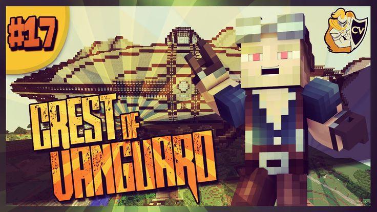 Minecraft  Crest Of Vanguard  SHIP WORKS & CHICKENS EVERYWHERE!