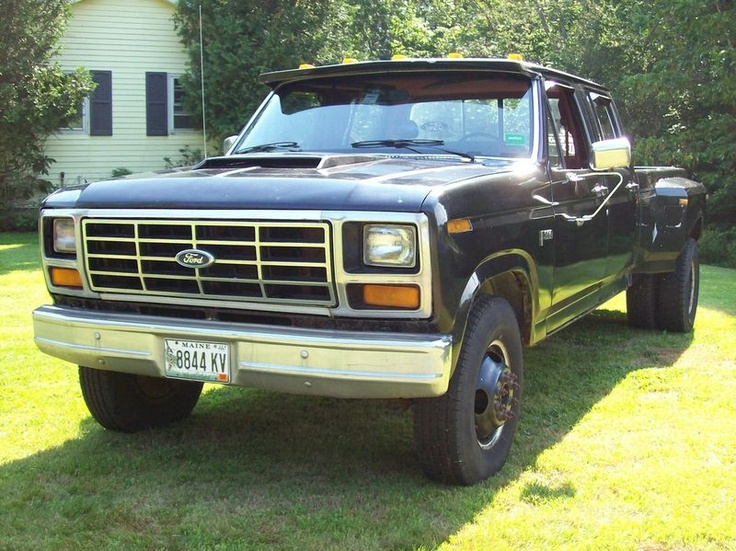 1986 F-350 | 1983 F-350 Ford Bullnose Crew Cab Long Bed ...