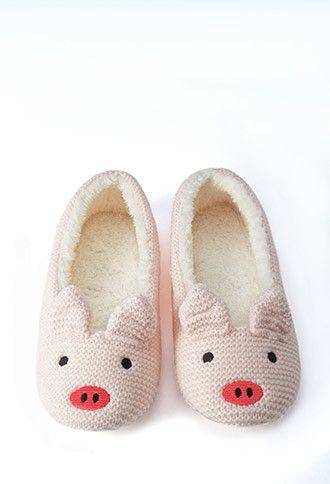 Pig Slippers | Forever 21 - 2000157923
