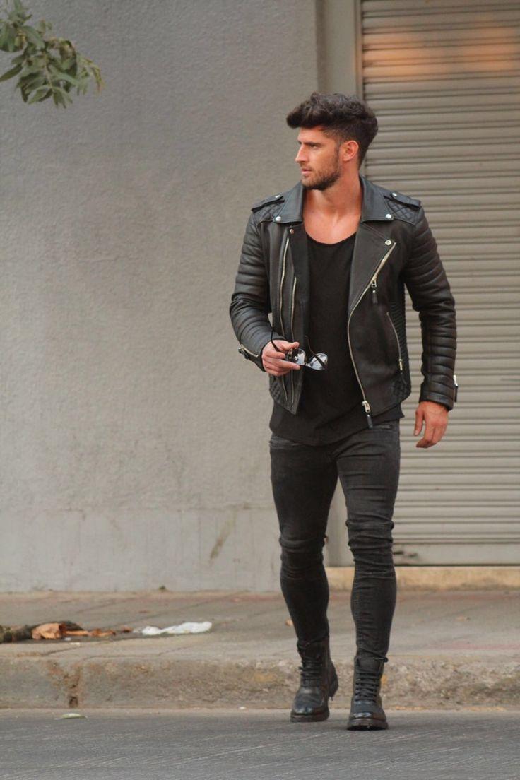 Landscapes, Leather, suit and more — leatherandbeards: Valentin