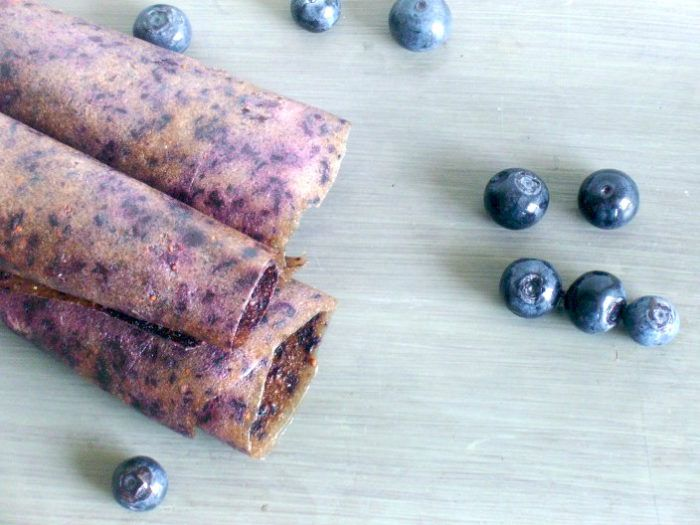Blueberry-Banana Fruit Leather Recipe | The Frugal Farm Wife